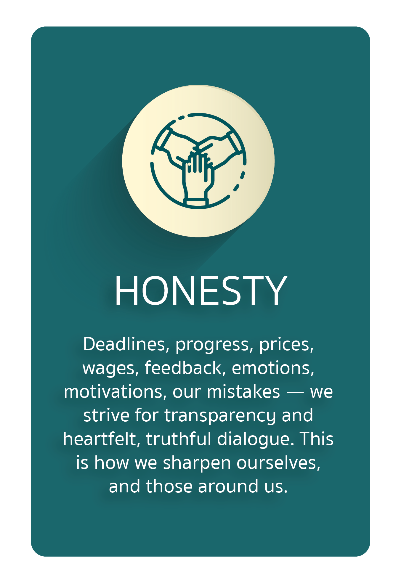 Core Value Honesty